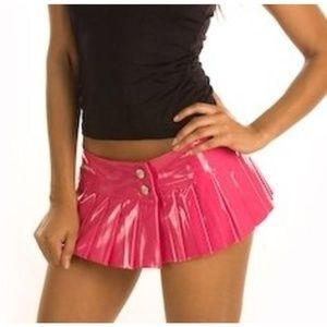 sexy pink pvc